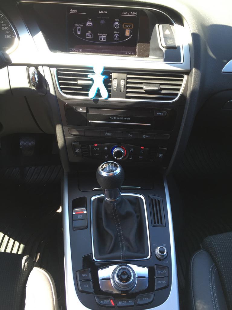 Update systèmes multimédia - Audi